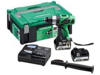 Aku vrtačka bez příklepu Hitachi DS18DBELTP - 2x Li-ion 18V/5.0Ah, 44Nm, 1.9kg, v kufru