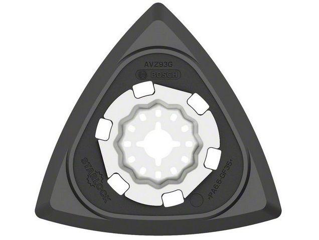 Brusná deska Bosch Starlock AVZ 93 G pro Multifunkční nářadí Bosch PMF 180 E, 190 E, Set, 250 CES, GOP 250 CE, 300 SCE, 10.8 V-LI Professional, Makita BTM50Z, BTM50RFEX4, Casals, Metabo, Skil (2608000493)