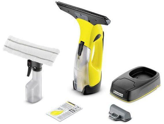 Čistič oken - Aku stěrka na okna Kärcher WV 5 Plus Non Stop Cleaning Kit s nabíjecí stanicí (1.633-443.0)