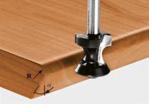 Zaoblovací/fazetovací fréza Festool HW S8 D24/R6/30° - 8 mm
