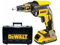 DeWalt DCF620D2 - 2x 18V/2.0Ah, 1.5kg, kufr, aku šroubovák na sádrokarton