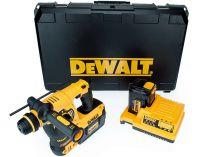 DeWalt DCH363D2 - 2x 36V/2.0Ah, 3.5kg, kufr, aku vrtačka s příklepem