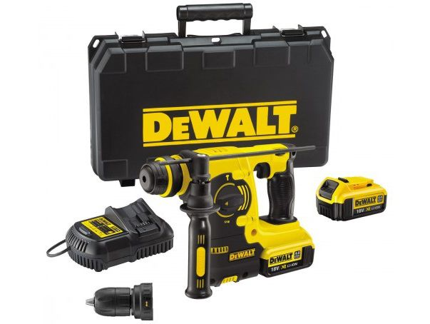 Aku vrtačka s příklepem DeWalt DCH363D2 - 2x aku 36V/4.0Ah, 4.1kg, v kufru (DCH364M2-QW)