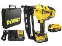 DeWalt DCN660P2 - 2x 18V/5.0Ah XR Li-Ion, 32-63mm, kufr, bezuhlíková aku hřebíkovačka