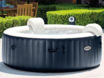 Mobilní vířivka - Vířivý nafukovací bazén Intex Pure Spa Bubble HWS MODRÝ, 196x71cm