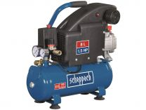 Olejový kompresor Scheppach HC 08 - 8bar, 155L/min, 8L, 17kg