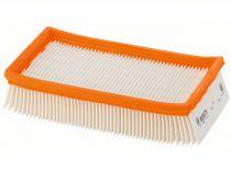 Polytetrafluoretyleno plochý skládaný filtr Bosch pro GAS 35 L AFC; GAS 35 L SFC+; GAS 35 M AFC; ...