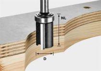 Lícovací fréza Festool HW S8 D19/NL25 - 8 mm