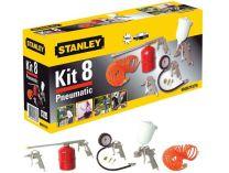 8-dílná sada nářadí STANLEY 9045671STN KIT BOX - ofukovací, hustící a stříkací pistole + přísl.