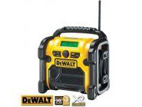 DeWALT DCR020 - 10.8-18V aku stavební rádio, bez aku