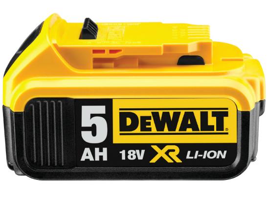 DCB184 Originál akumulátor 18V XR Li-Ion 5,0Ah DeWALT