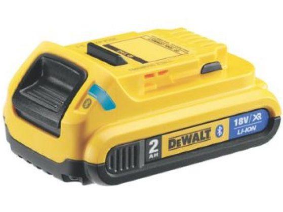Akumulátor s technologií Bluetooth DeWALT DCB183B - XR Li-Ion 18V/2.0Ah (DCB183B-XJ)