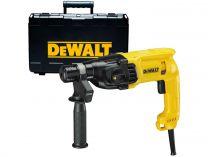 Vrtací a sekací kladivo DeWalt D25033K - SDS-Plus, 650W, 2.0J, 2.5kg, v kufru