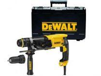 Zobrazit detail - Kombinované kladivo DeWalt D25144K - 900W, 3.0J, 3.1kg, kufr, pneumatické kladivo SDS-Plus