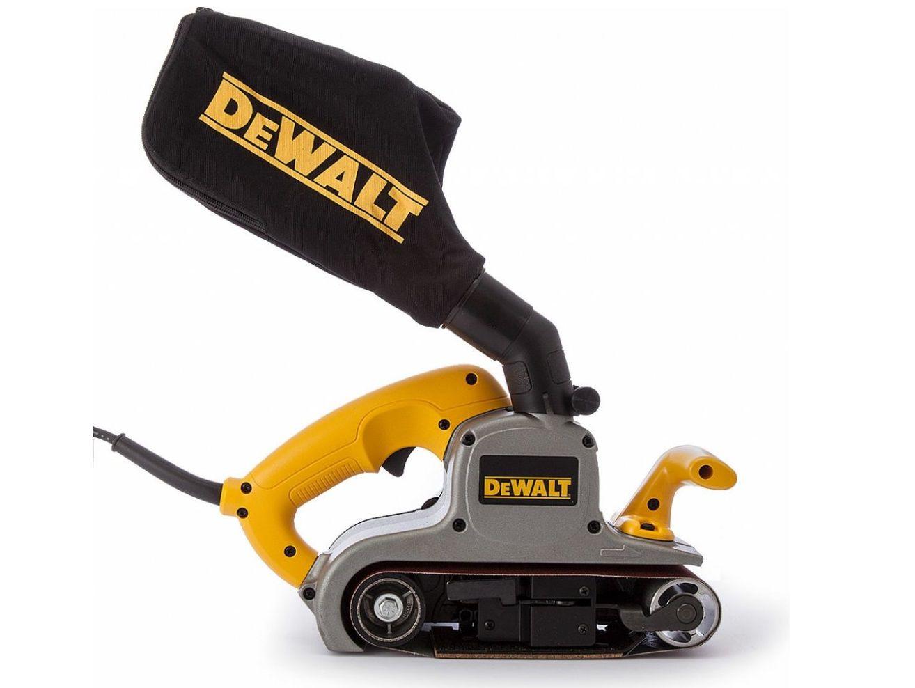 Pásová bruska DeWalt DWP352VS - 1010W, 75x533mm, 5.5kg (DWP352VS-QS)