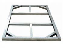Podlahové prodloužení konstrukce pro zahradní domek Duramax Titan