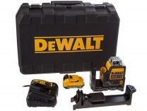 Zobrazit detail - DeWALT DCE0811D1R - 1x 10.8V/2.0Ah, 4.3kg, kufr, profi křížový laser