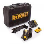 Zobrazit detail - DeWALT DCE088D1G - 1x 10.8/2.0Ah, 4.3kg, kufr, profi křížový laser