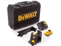 DeWALT DCE088D1R - 1x 10.8/2.0Ah, 4.3kg, kufr, profi křížový laser