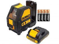 DeWALT DCE088LR - 4x AA 4.3kg, profi křížový laser