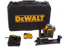 Zobrazit detail - DeWALT DCE089D1G - 1x 10.8/2.0Ah, 4.3kg, kufr, profi křížový laser