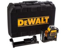 DeWALT DCE089LR - 1x 10.8/2.0Ah, 4x AA adaptér, 4.3kg, kufr, profi křížový laser