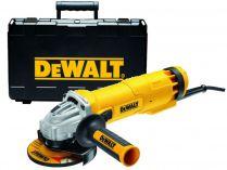 Úhlová bruska DeWalt DWE4237K - 1400W, 125mm, 2.2kg, beznapěťový spínač, v kufru