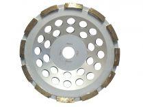 Diamantový brusný hrnec na beton, žulu a mramor Makita, pr. 125x22.23mm, 2-řadý segment