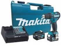 Makita HP332DSME - 2x 10.8V/4.0Ah, 35Nm, 2 rychl., 1.1kg, kufr, aku vrtačka s příklepem