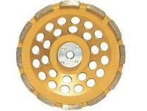 Diamantový brusný hrnec antivibrační na beton, žulu a mramor Makita, pr. 125mm / M14, 1-řadý segment