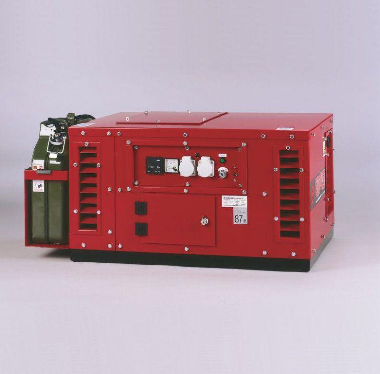 Generátor - Jednofázová elektrocentrála Honda Europower EPS6000E-ATS - 6 kVA, DOPRAVA ZDARMA