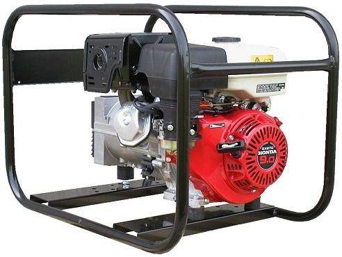 Generátor - Jednofázová elektrocentrála HONDA Europower EP4100-AVR s výkonem 4 kVA, DOPRAVA ZDARMA
