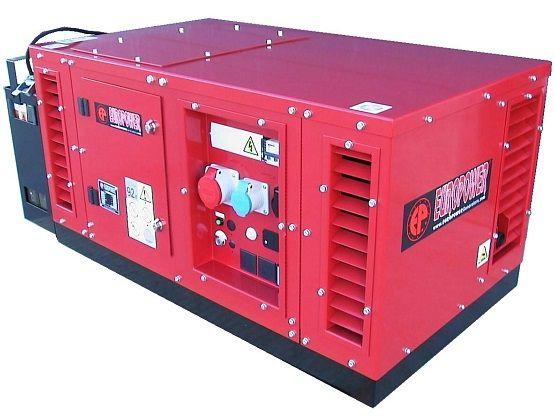 Generátor - Třífázová elektrocentrála HONDA Europower EPS12000TE s výkonem 12 kVA, DOPRAVA ZDARMA