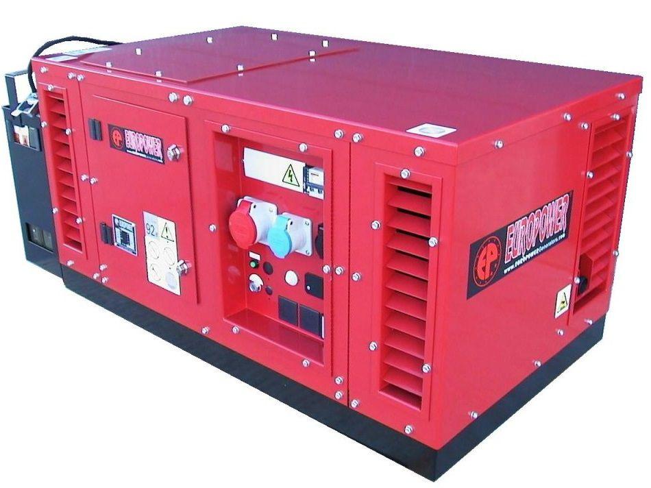 Generátor - Třífázová elektrocentrála Honda Europower EPS15000TE-ATS - 15 kVA, DOPRAVA ZDARMA