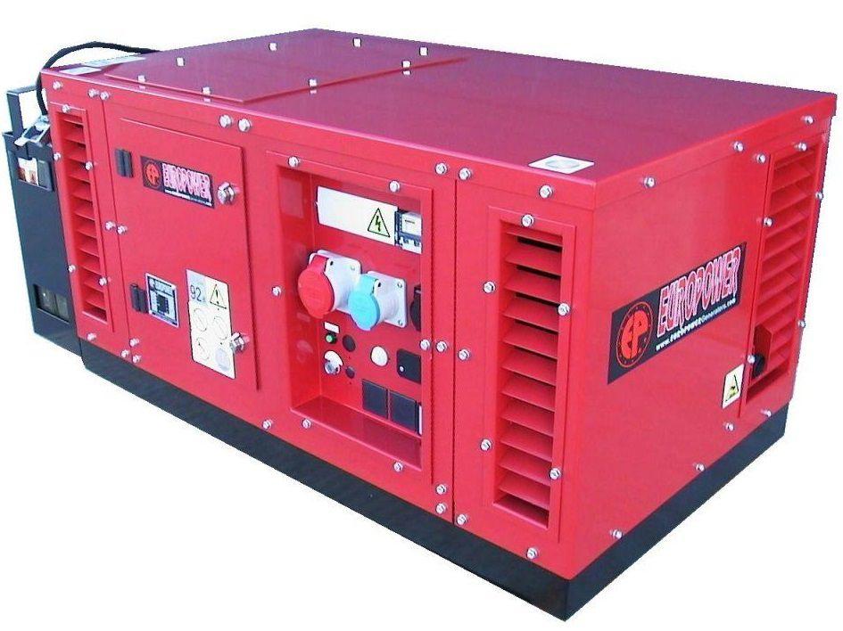 Generátor - Třífázová elektrocentrála HONDA Europower EPS6500TE-PDM1 s výkonem 7 kVA, DOPRAVA ZDARMA