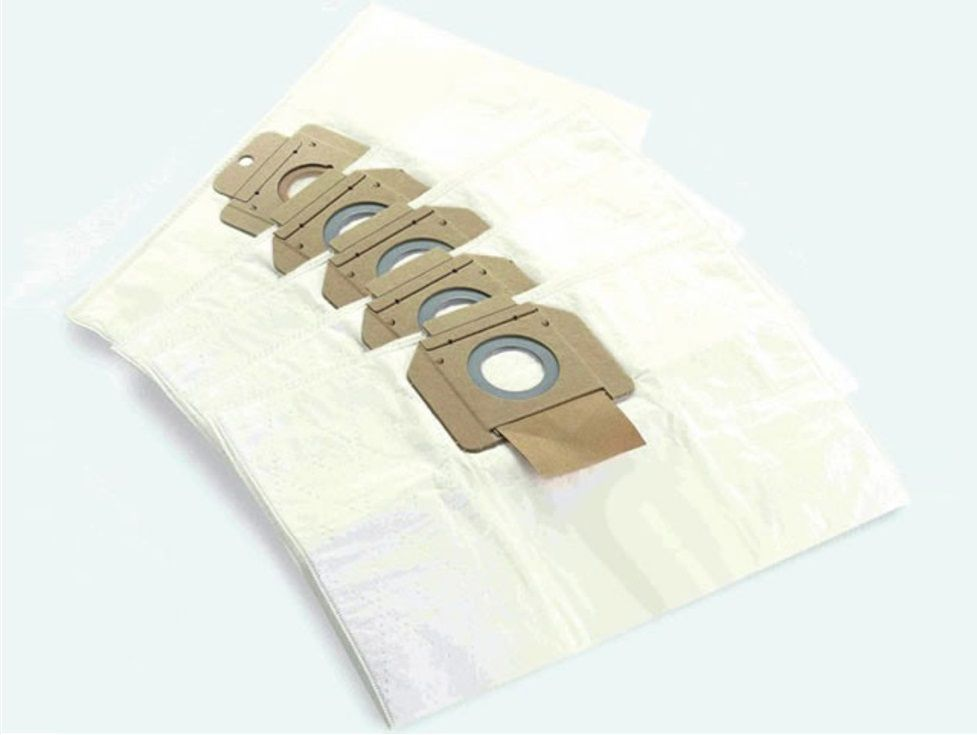Vliesové filtrační sáčky - náhradní alternativní pytle Lobster do vysavače Makita 446L, 446LX, Protool VCP 260, VCP 260 E-L, VCP 260 E-M - 5ks (440044)