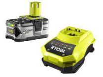 Akumulátor Ryobi RBC18L50 Li-Ion 18V/5.0Ah + nabíječka