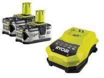 Akumulátory Ryobi RBC18LL40 Li-Ion 18V/4.0Ah - 2ks + nabíječka