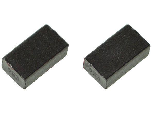 Náhradní kartáče - uhlíky do Bosch GBM 10, GBM 10 RE, GSB 13, GSB 13 RE, KS 5500, MHS 6040 Professional - 2ks (2610391290)