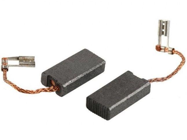 Náhradní kartáče - uhlíky do pneumatického kladiva Bosch GBH 4 DFE Professional, 17.2 x 10 x 5 mm, 2ks (1617014124)