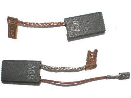 Náhradní kartáče - uhlíky do pneumatického kladiva Bosch GBH 5-40 DCE, GBH 5-40 DE, GSH 5 E, GSH 5 CE Professional, 23 x 12.3 x 6 mm, 2ks (1617014144)
