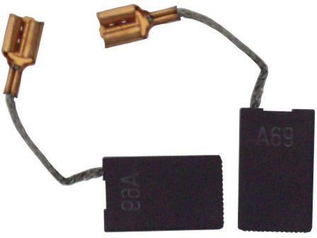 Náhradní kartáče - uhlíky do pneumatického kladiva Bosch GBH 11 DE, Bosch GSH 10 C, Bosch GSH 10 E, Bosch GSH 11 E Professional - 2ks (1617014126)