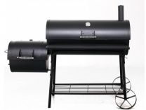 TEPRO Natchez - gril na dřevěné uhlí - 122x163x74cm, 56kg
