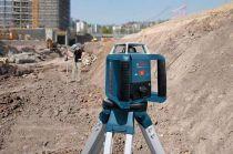 Rotační laser Bosch GRL 400 H Professional + Laserový přijímač LR 1 Professional + Kufr (0601061800) Bosch PROFI