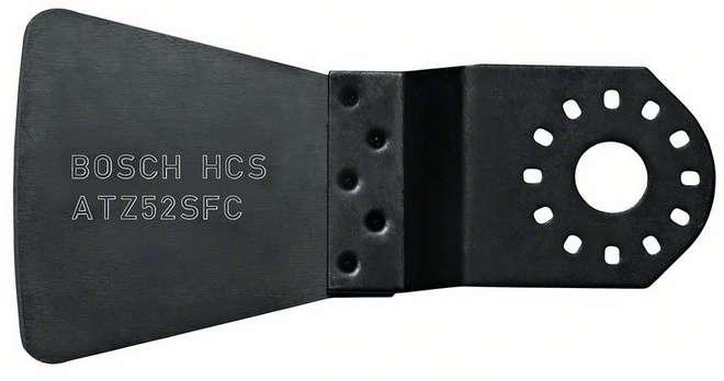 Škrabka Bosch HCS ATZ 52 SFC, pružná pro Multifunkční nářadí Bosch PMF 180 E, 190 E, Set, 250 CES, GOP 250 CE, 300 SCE, 10.8 V-LI Professional, Makita BTM50Z, BTM50RFEX4, Casals, Metabo, Skil