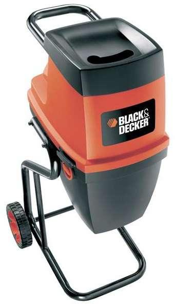 Kompostovač - zahradní drtič větví Black&Decker GS2400, 2400W