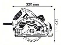 Bosch GKS 65 GCE Professional Ruční kotoučová pila Bosch PROFI