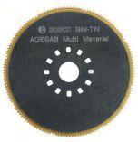 Segmentový pilový kotouč Bosch BIM-TiN AOI 65 AB Multi Material pro Multifunkční nářadí