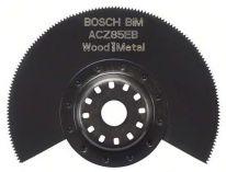 Bimetalový segmentový pilový kotouč na dřevo a kov Bosch ACZ 85 EB Wood and Metal pro Multifunkční nářadí