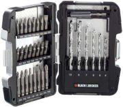 31-dílná sada vrtáků a bitů Black-Decker A7156